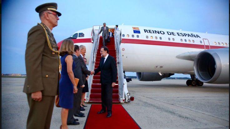 Rajoy llega a Washington para reunirse hoy martes con Trump en la Casa Blanca