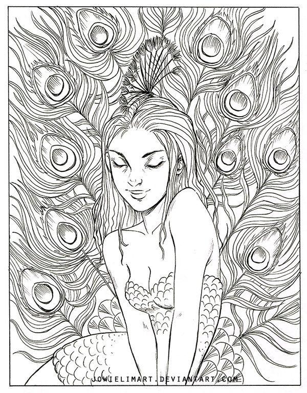 Bird Series: Peacock by JowieLimArt.deviantart.com on @DeviantArt
