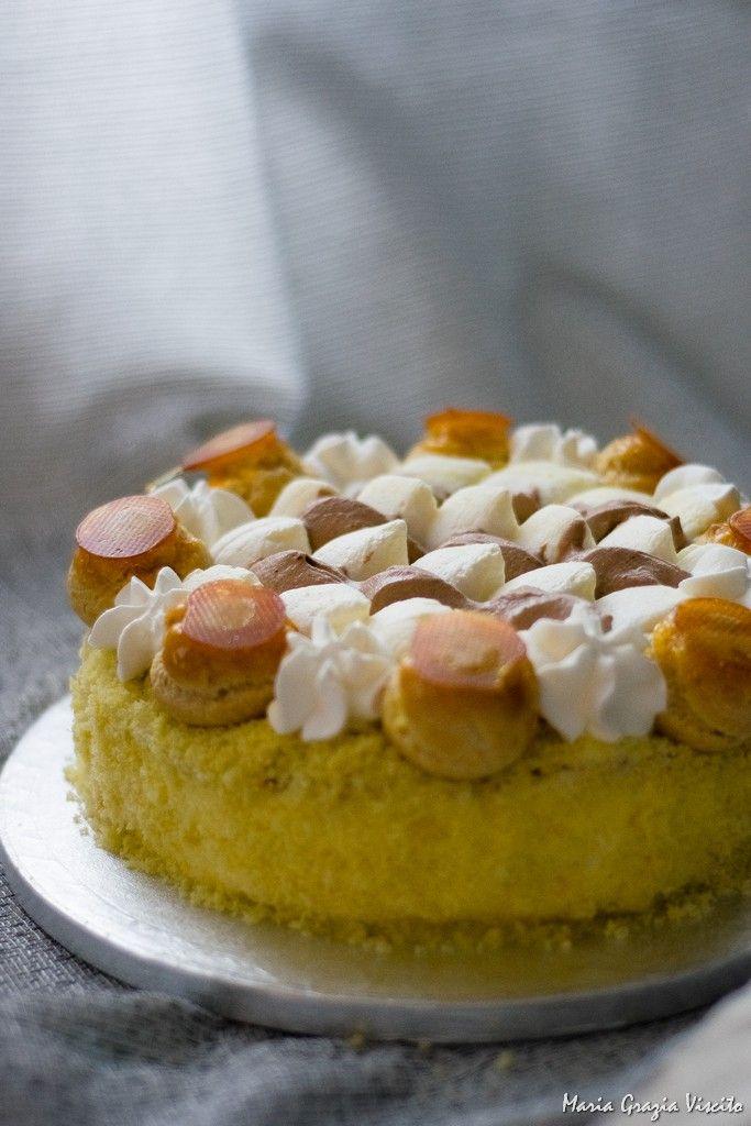 Le torte per le feste: il Saint Honoré all'italiana di Iginio Massari