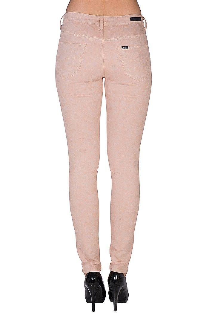 Lee Scarlett Skinny Damen Jeans Rosa L526EVED – Bild 4
