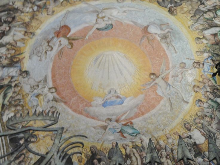 Expectant Mary: Fresco from Santa Sabina: