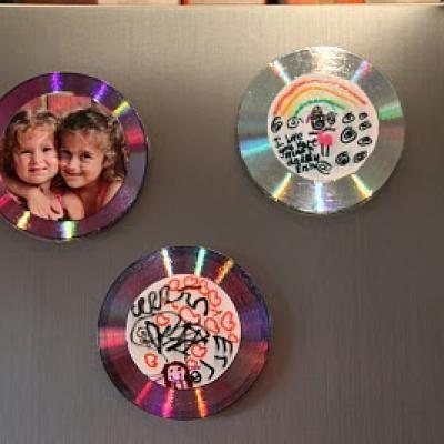 Fridge Magnet CD