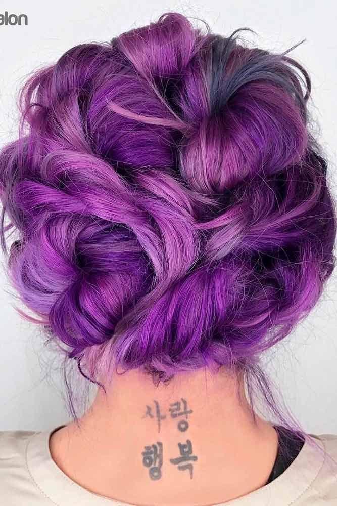 25 best purple hair ideas on pinterest violet hair dark purple hair color and dark purple. Black Bedroom Furniture Sets. Home Design Ideas