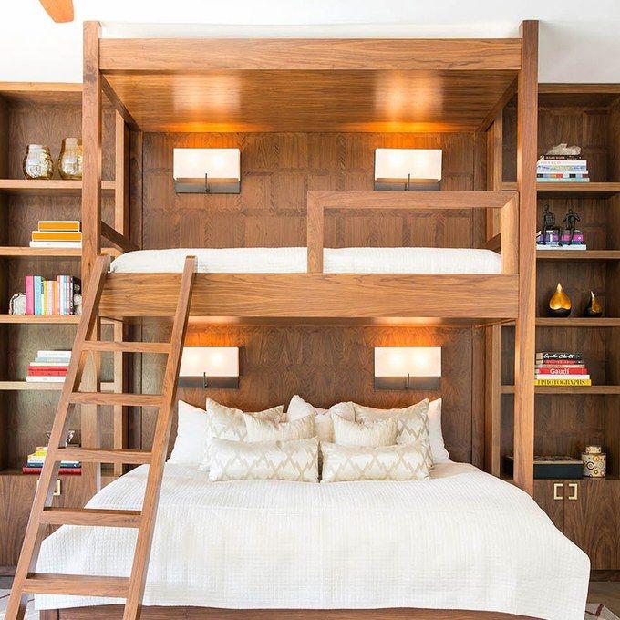 25 Best Ideas About Corner Bunk Beds On Pinterest