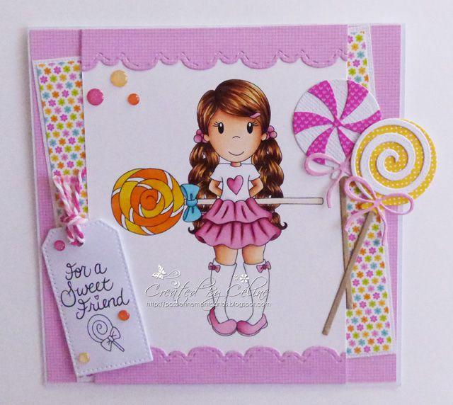 Passionnément Cartes: DT Paper Nest Dolls