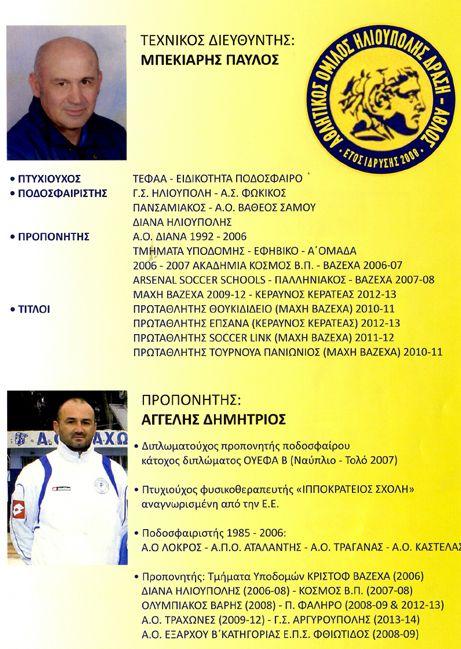Α.Ο.Αθλος Ποδοσφαιρική Ακαδημία. Οι προπονητές μας. Παύλος Μπεκιάρης και Δημήτρης Αγγελής.😄⚽🥅🥇🏆 #ΑθλοςΗλιουπολης #AthlosIlioupolis #football #soccer #Academy #FootballAcademy