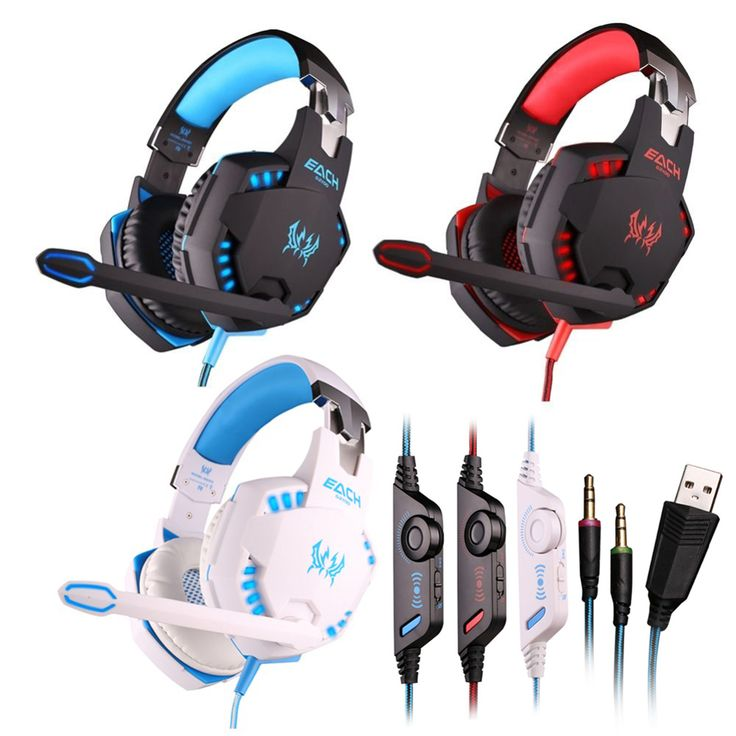 >> Click to Buy << +Cheap+ KOTION EACH G2100 3.5mm Led Gaming Headphone Headset Adjustable Mic Stereo Surround Sound For Pc Games #Affiliate