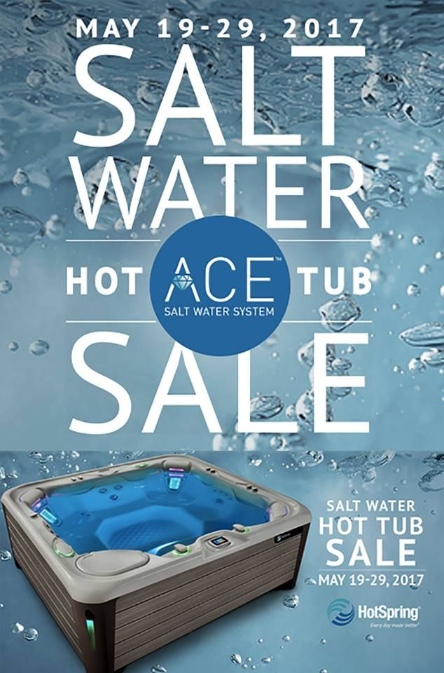 free ace salt water system when you purchase a new highlife collection nxt highlife collection or limelight collection spa with a saltwater hottub - Saltwater Hot Tub