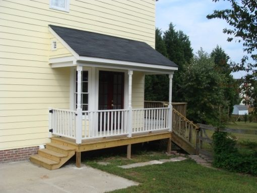 10 best images about side porch ideas on pinterest side for Side porch house plans