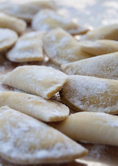Ravioli al basilico fatti in casa | L'idea Pellegrina foodblog