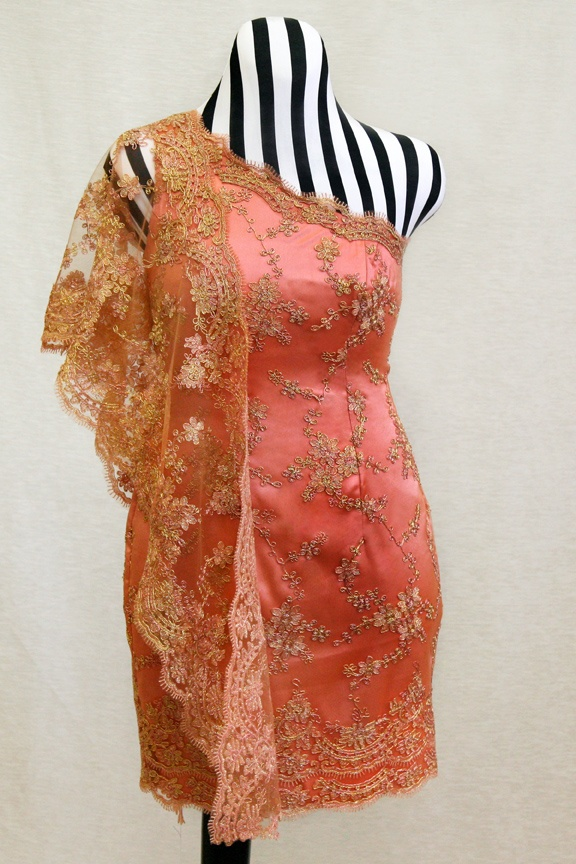 Pink and gold Indian Inspired dress