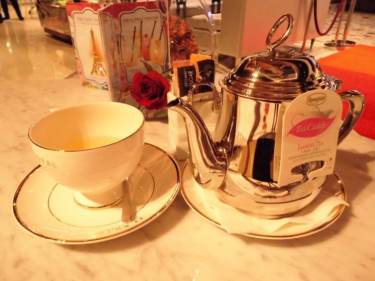 Jasmine Tea #tea #jasmine #teapot #ronnefeldt