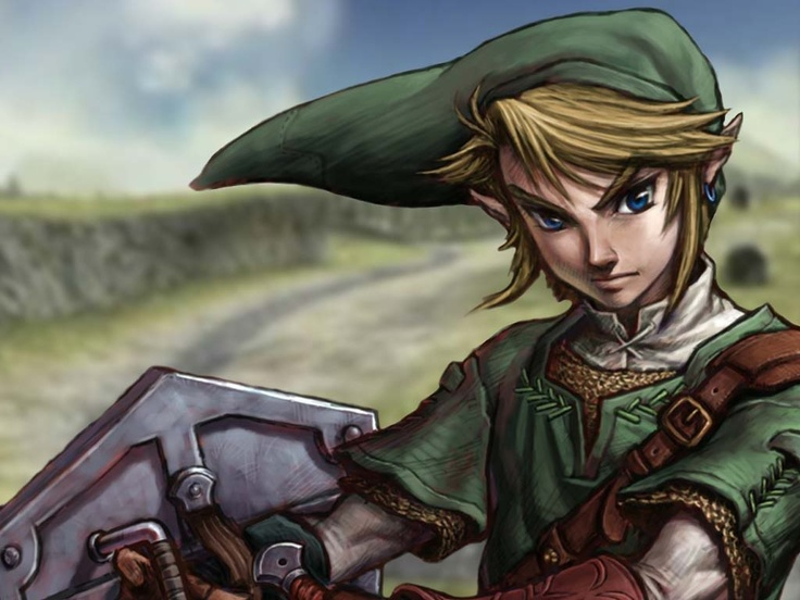 Call me obsessed, but look at those arms! Zelda hd