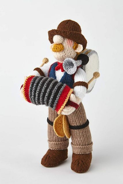 Ravelry: One-Man Band pattern by Alan Dart