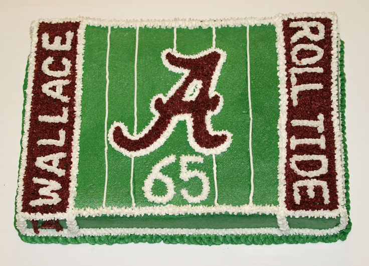 Alabama Roll Tide Cake...I want this as my birthday cake