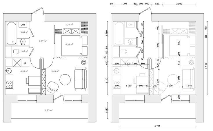 Дизайн однокомнатной квартиры : Второй сезон планировочных решений однокомнатных квартир бесплатно! (прием закрыт, 6 из 10...