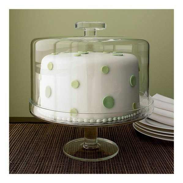 I really need a cake plate with a very tall dome.  Very tall dome.  But I want it to be all glass. . .apparently this is a huge request.