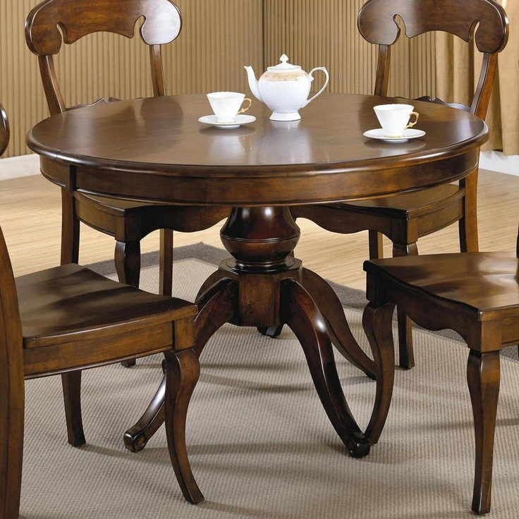Brooks Furniture Classic Heirlooms Single Pedestal Dining