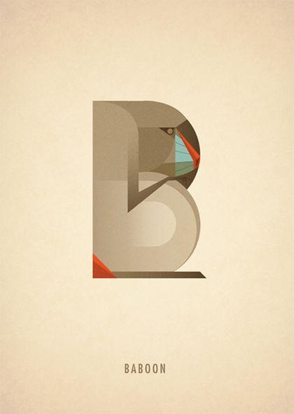 Animal Alphabet: B || Marcus Reed || http://www.marcusreed.com/