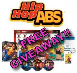 Hip Hop Abs FREE GIVEAWAY! Contest ends Friday, February 1st!