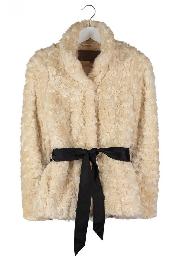 Winterjas van Mint&Berry, € 89,95 | bontjas winter bruid | 6x Faux Fur Jas