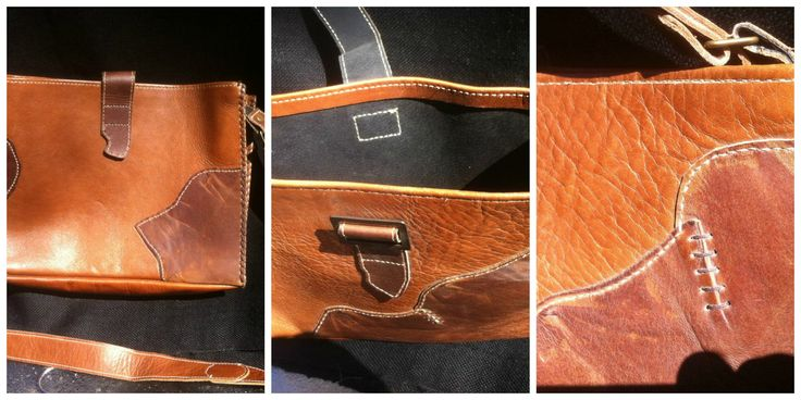 Leather Sling Bag.