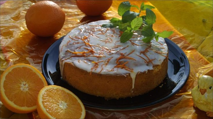 Saftig påskekake med appelsin
