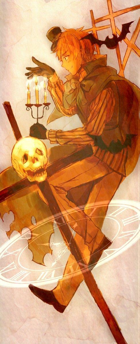 笹かま - Hetalia - England (Arthur Kirkland) man I love the halloween theme in this Ah it is such a lovely holiday