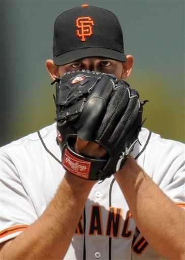 Madison Bumgarner SF Giants. Opposing batters, when you see this face, RUN.