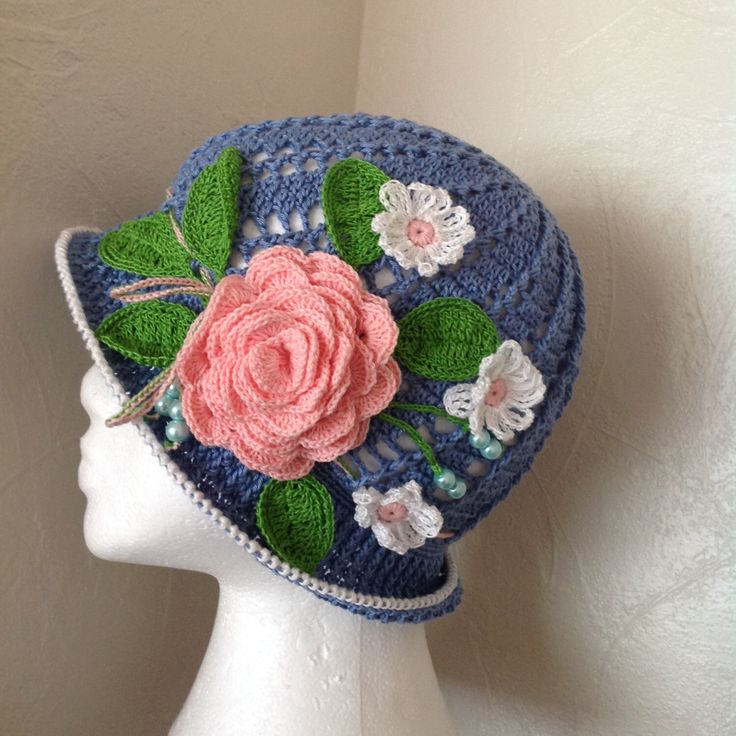 A personal favourite from my Etsy shop https://www.etsy.com/uk/listing/266988734/crochet-summer-hat-panama-flower-hat
