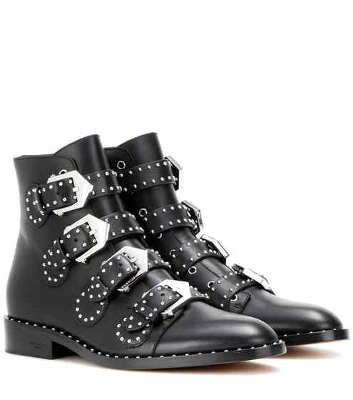 Embellished leather boots | Givenchy