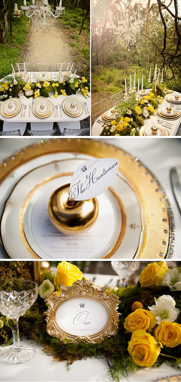 A Snow White & The Huntsman Inspired Style Shoot in Australia | WeddingWire: The Blog