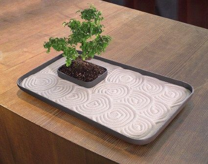 Energize your work spot with Table top Zen Gardens!