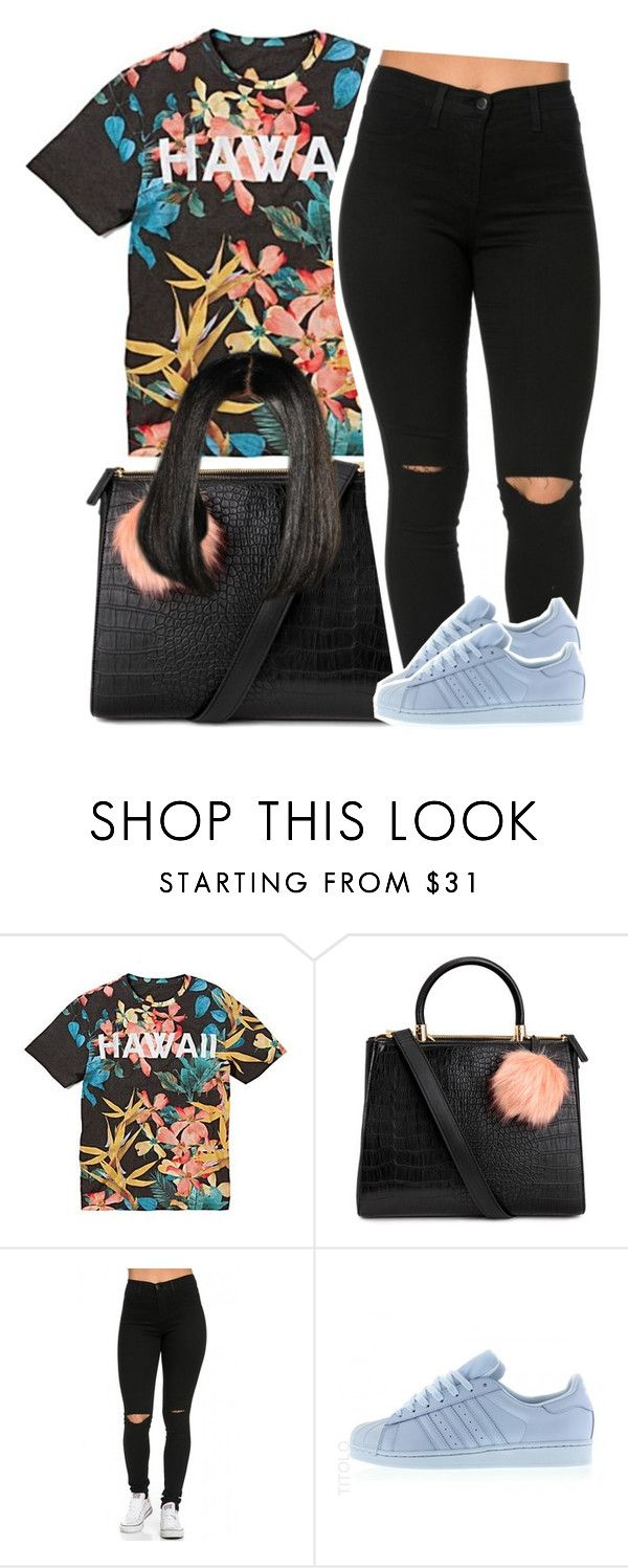 """"" by trinityannetrinity ❤ liked on Polyvore featuring adidas"