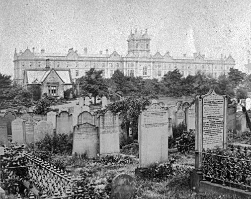 Leeds workhouse, c.1865