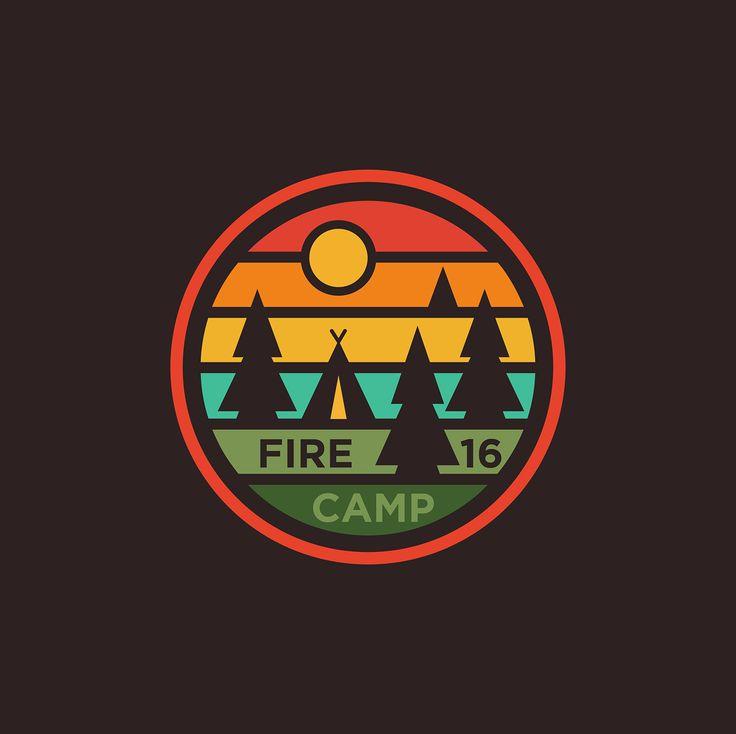 Fire Camp 16 on Behance