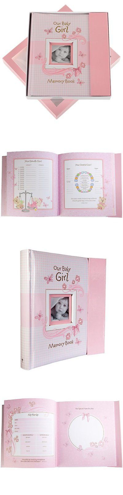 Baby Books and Albums 117389: Pink Memory Baby Album Photo Book For Newborn Girl Pad First Vintage New -> BUY IT NOW ONLY: $30.89 on eBay!