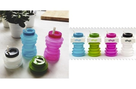 botellas de agua plegables Ohyo