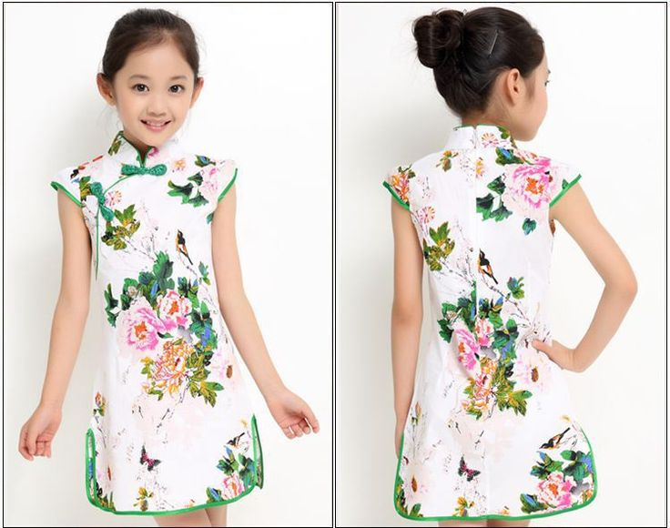 New arrival kids Cheongsam, kids clothing hot sale