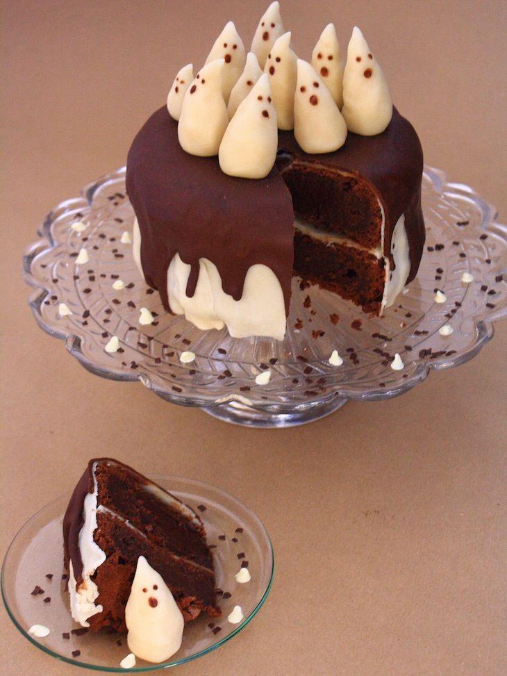 fantome halloween halloween gâteaux cuisine halloween halloween ...