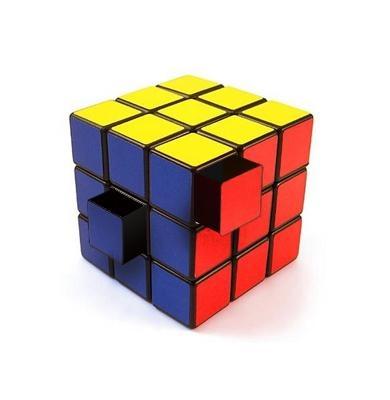Mesa cubo mágico com 24 gavetas.Tomara que produzam!