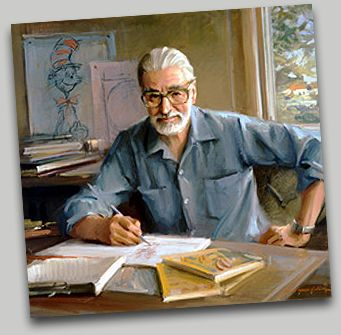Theodor Seuss Geisel (1904-1991) was an American writer, poet, and cartoonist most