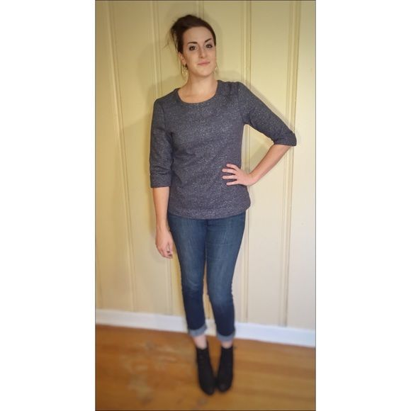 SALE💥Gray Sweatshirt Measurements: Not yet. Bust:  Waist:  Hips:  Length:   Details: The model is an M so it fits tighter. I love how crisp this sweater is. It *reminds me of  a sweater Kristen Stewart's character in Still Alice wears.  Fabric: Cotton/polyester blend  Cross posted on Etsy. Follow our store on Facebook, Twitter, Etsy and Instagram: @wingdingpop Coldwater Creek Sweaters