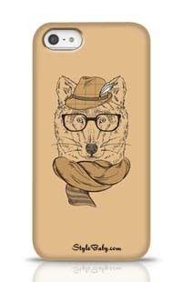 Mr. Fox Apple iPhone 5 Phone Case