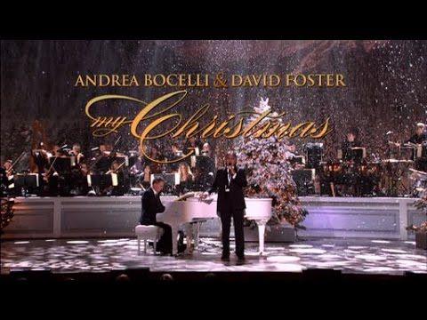 Andrea Bocelli & David Foster   My Christmas Live At The Kodak Theatre - YouTube