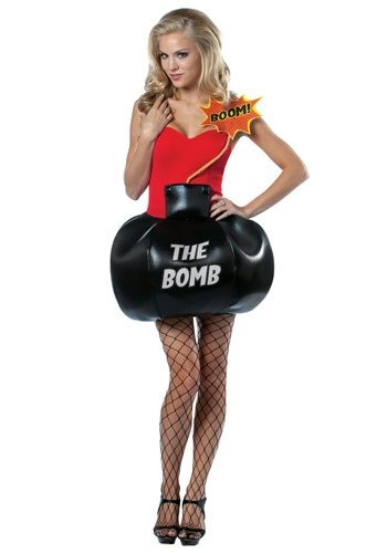 shes the bomb costume pun costumes funny costumes - Funny Halloween Costume Ideas Women