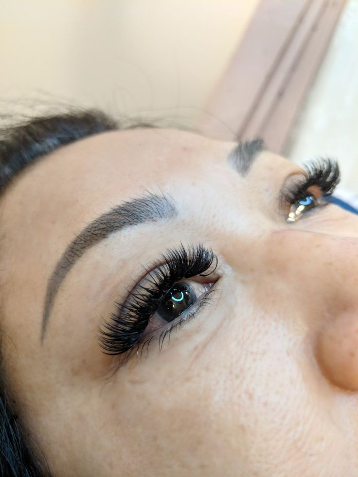 Edmonton hybrid lashes , hybrid lash extensions , volume ...