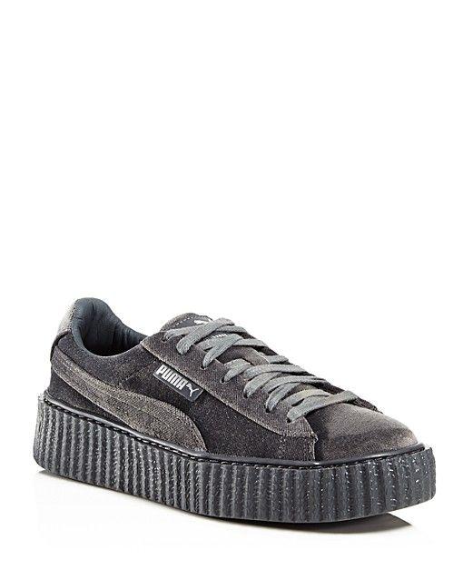 FENTY Puma x Rihanna Men's Velvet Creeper Lace Up Sneakers - Bloomingdale's