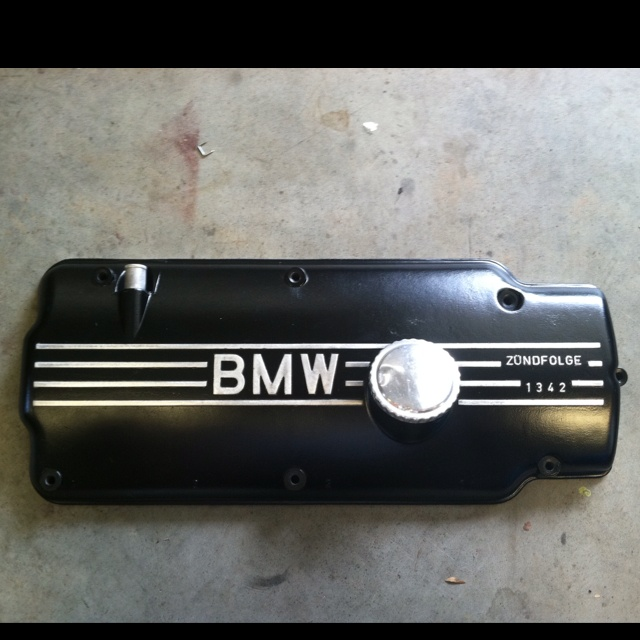Porsche Boxster Engine Rattle: I Painted My Valve Cover A Few Months Back.