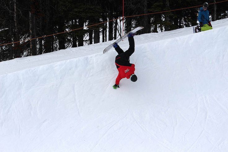 SnowSkool snowboard instructor course in Big White, Canada 2015 week 9